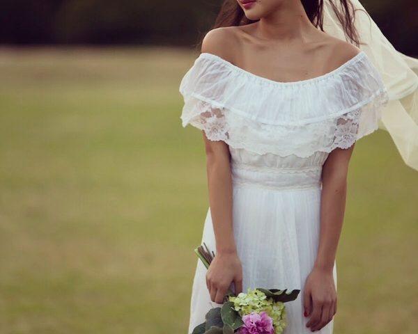 ウェディング ドレス カジュアル